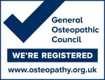 Registered with the General Osteopathy Council